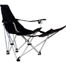 Basic Nature Travelchair Aurinkotuoli, black